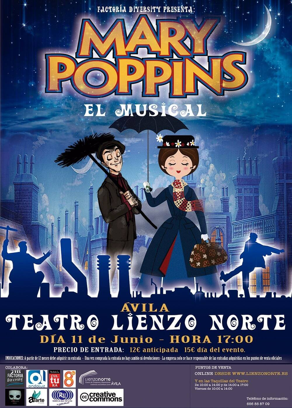 Mary Poppins ,El Musical
