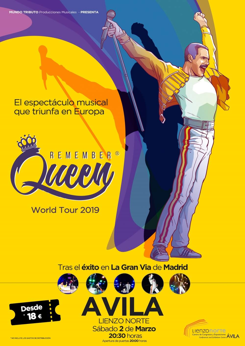 Remember Queen. World Tour